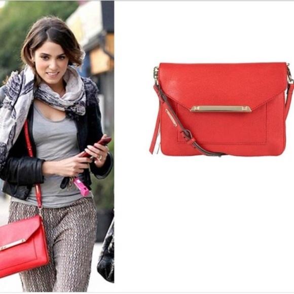 d687134d21 NWOT Stella   Dot Tia Crossbody Bag in Poppy Red